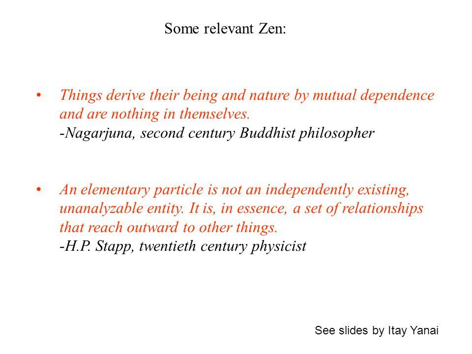 Some relevant Zen: