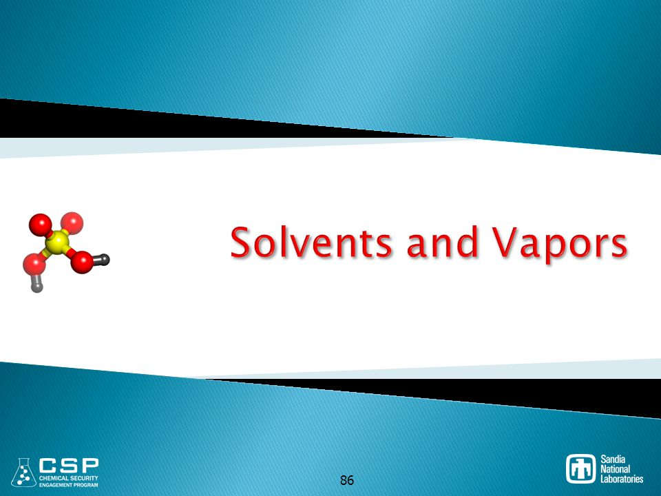 Solvents and Vapors 86