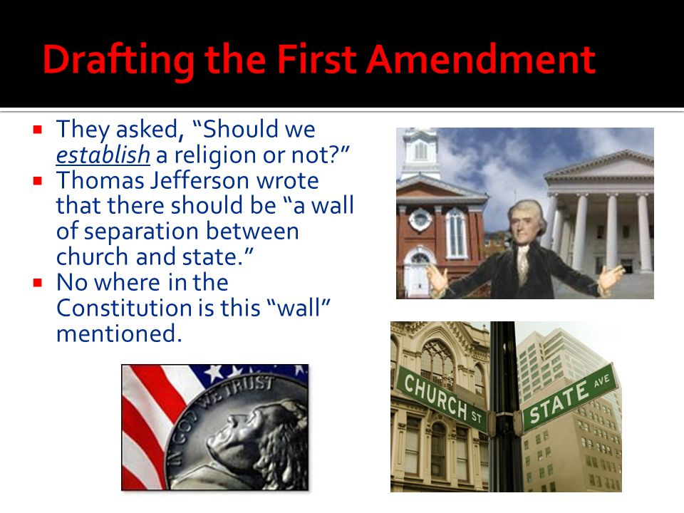Drafting the First Amendment