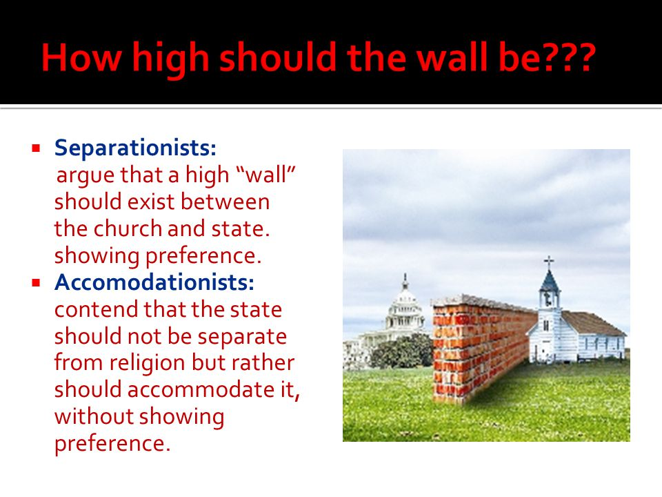 How high should the wall be