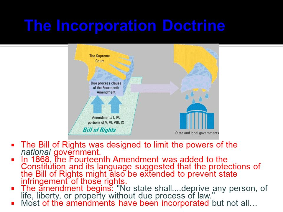 The Incorporation Doctrine