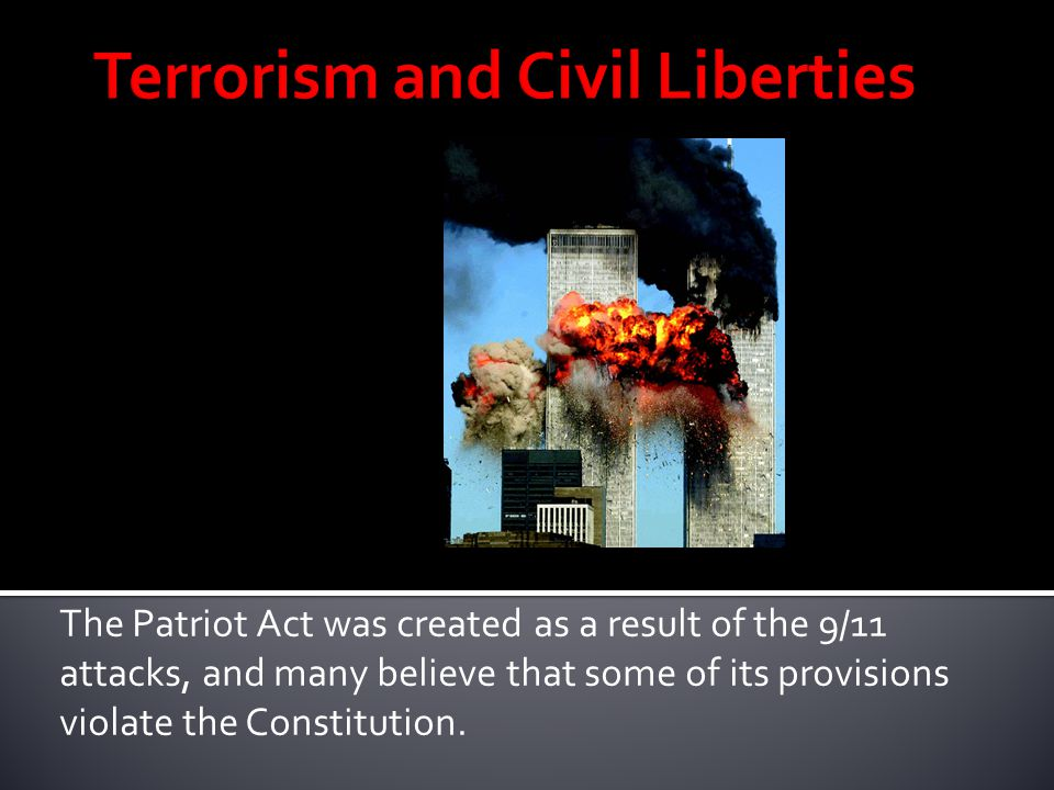 Terrorism and Civil Liberties