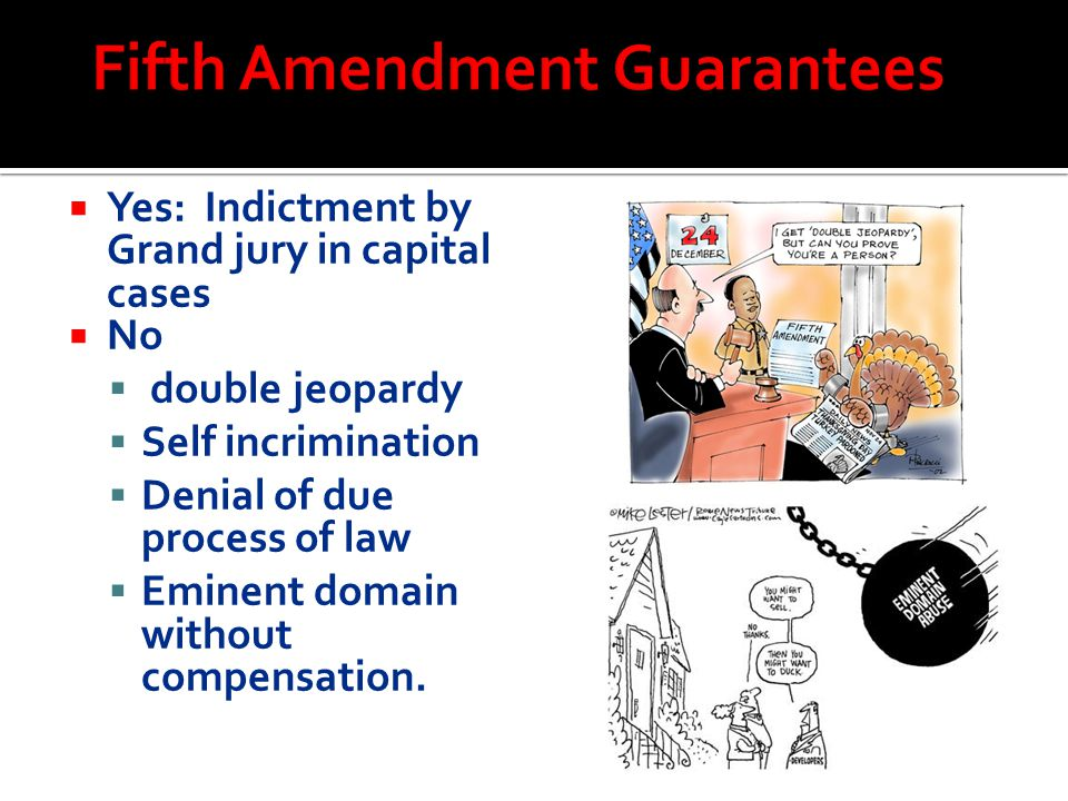 Fifth Amendment Guarantees