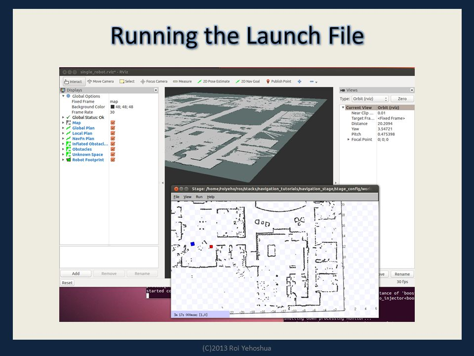 Running the Launch File