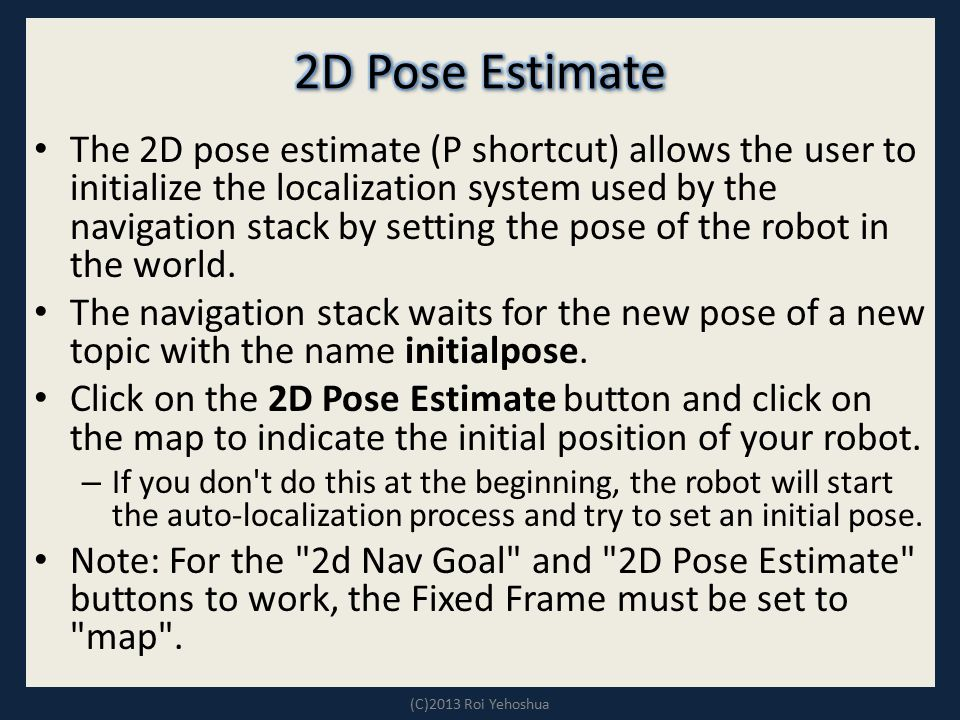 2D Pose Estimate