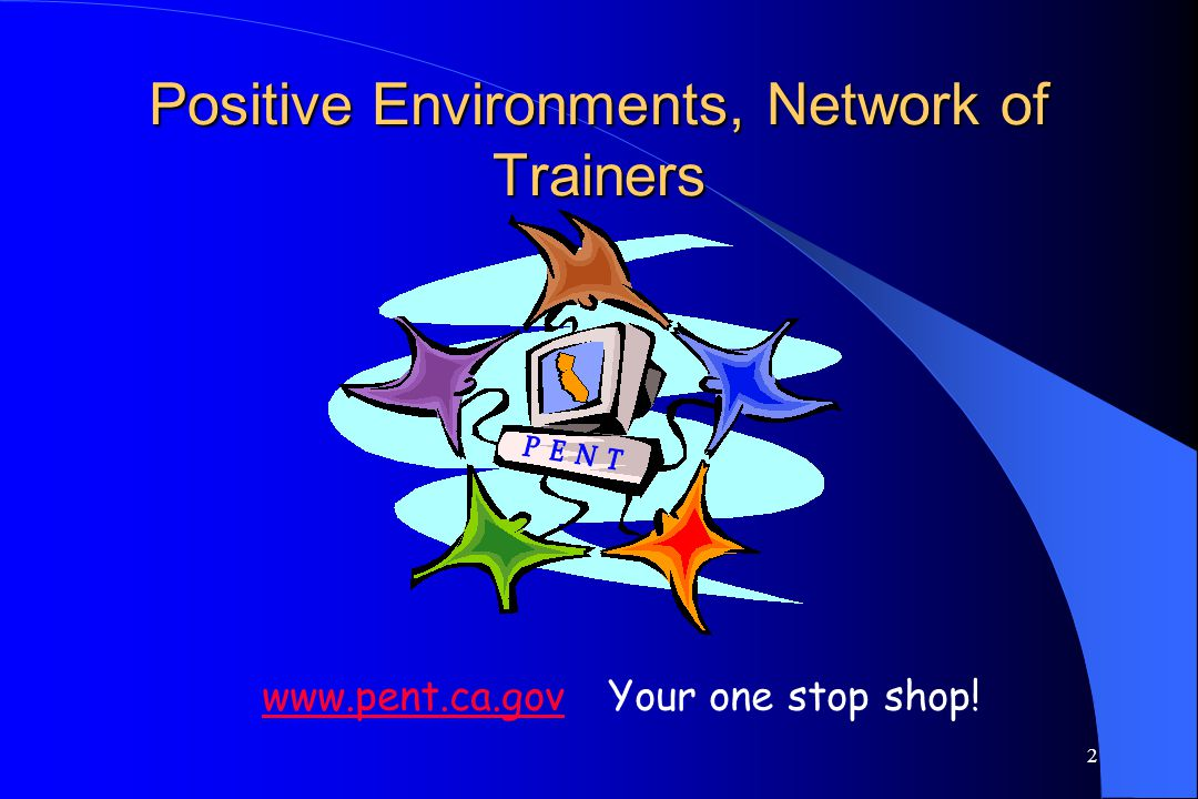 Positive Environments, Network of Trainers