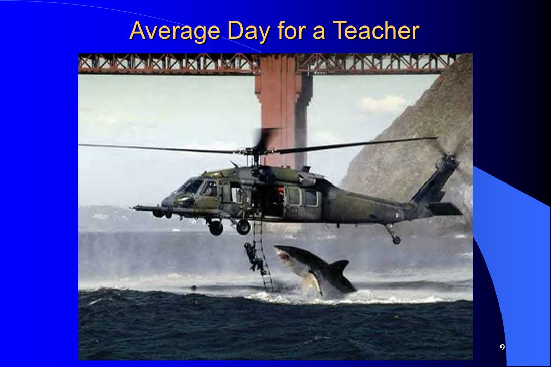 Average Day for a Teacher