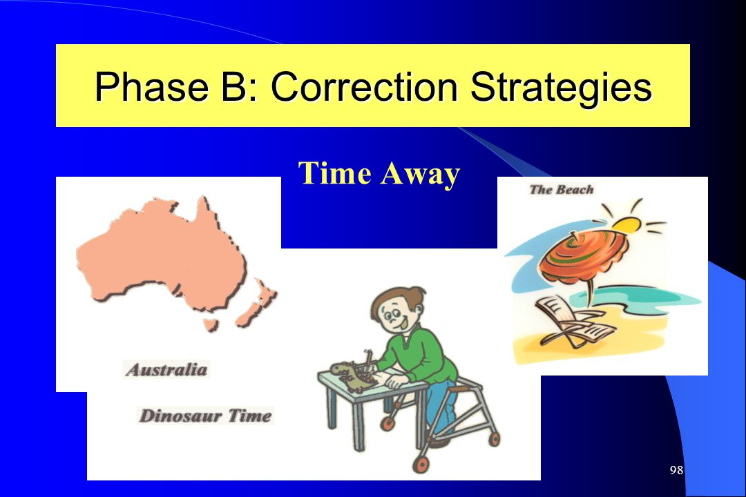 Phase B: Correction Strategies