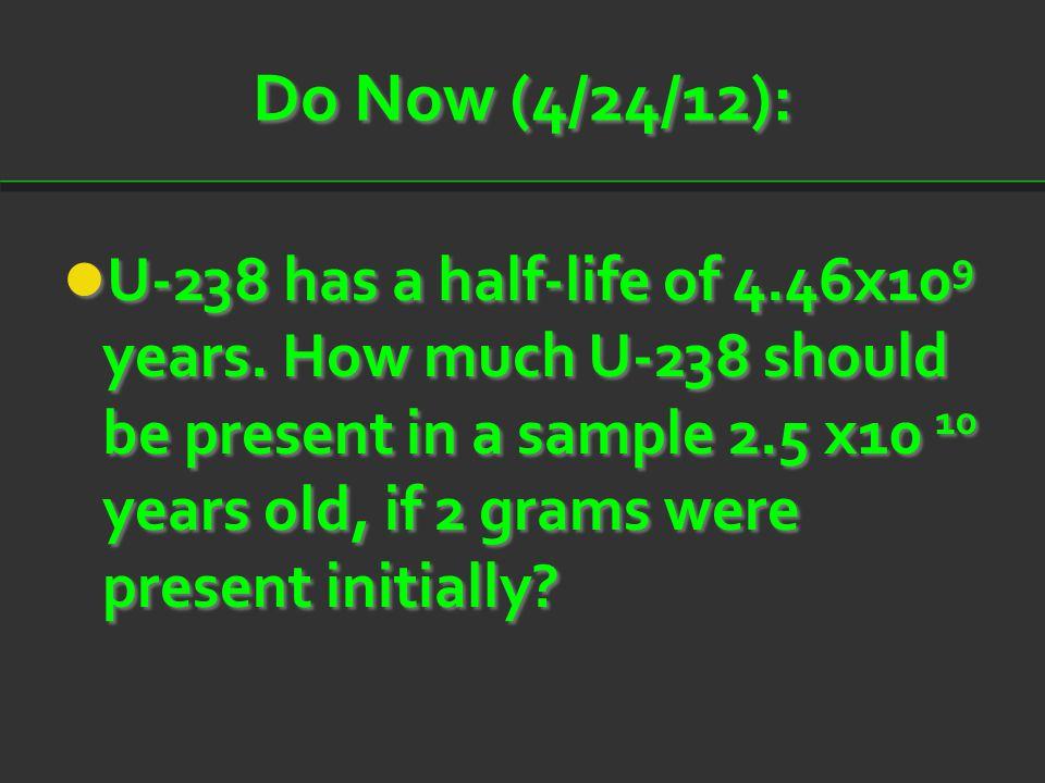 Do Now (4/24/12):