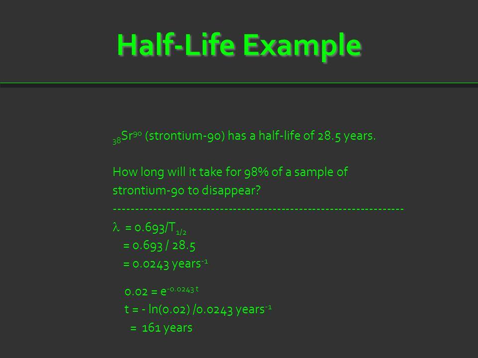 Half-Life Example