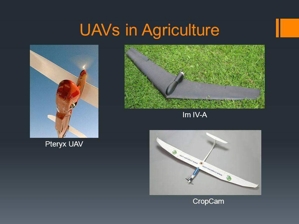 UAVs in Agriculture Im IV-A Pteryx UAV CropCam