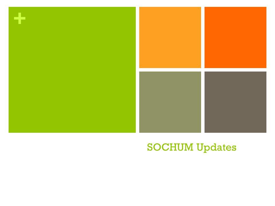 SOCHUM Updates