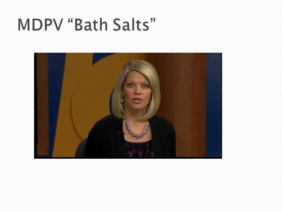 MDPV Bath Salts