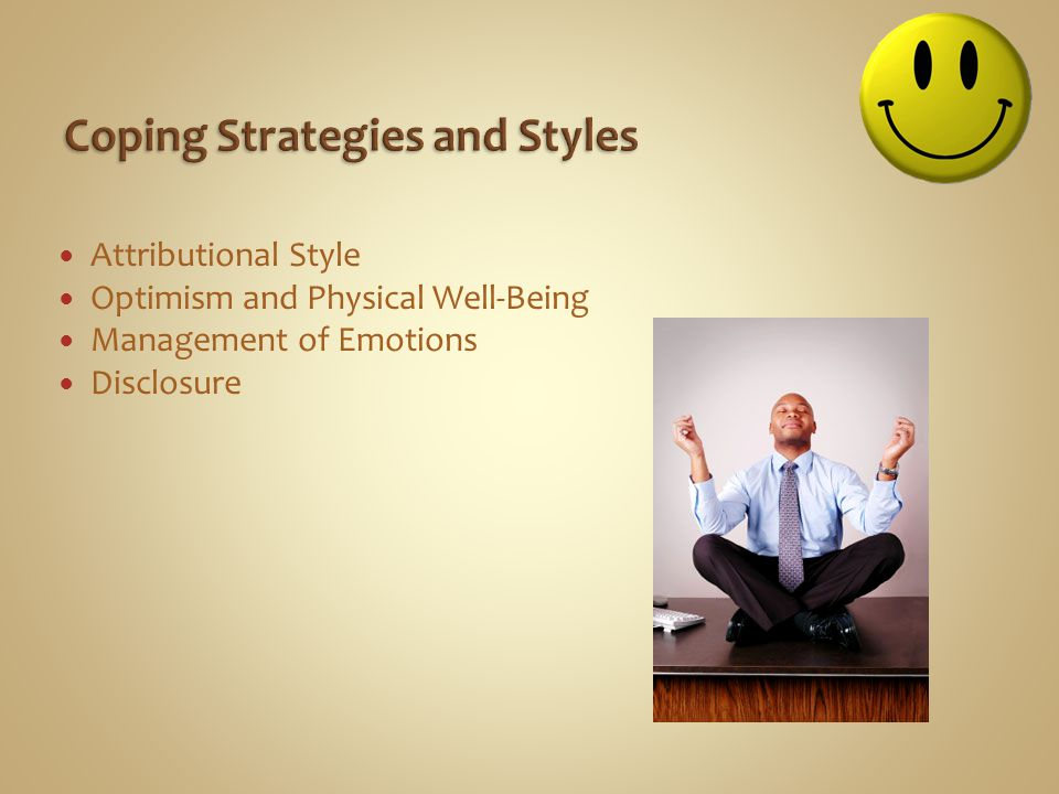 Coping Strategies and Styles