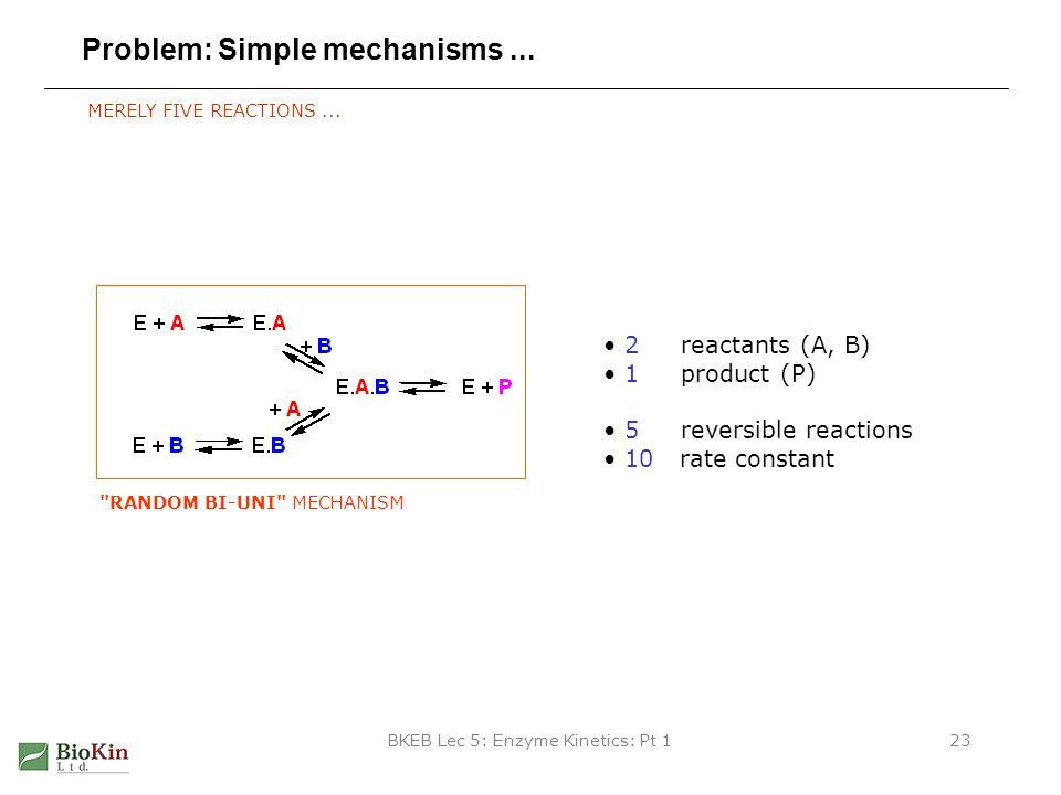 Problem: Simple mechanisms ...