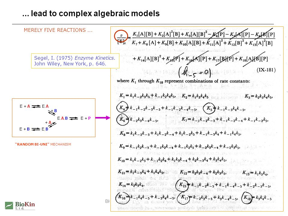 ... lead to complex algebraic models