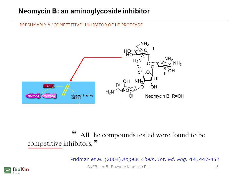 Neomycin B: an aminoglycoside inhibitor