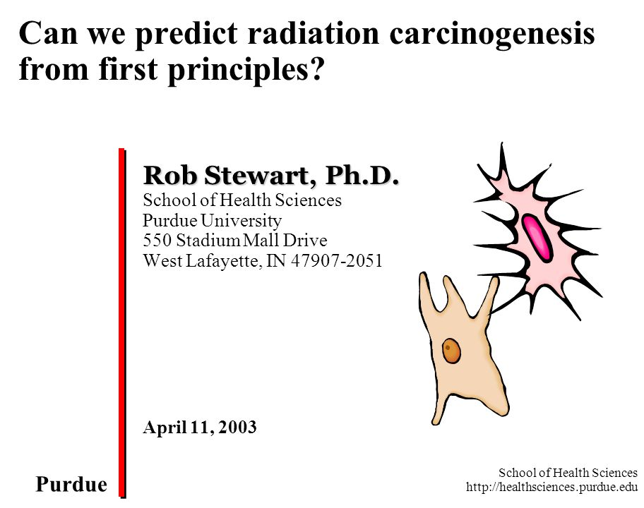 Can we predict radiation carcinogenesis from first principles