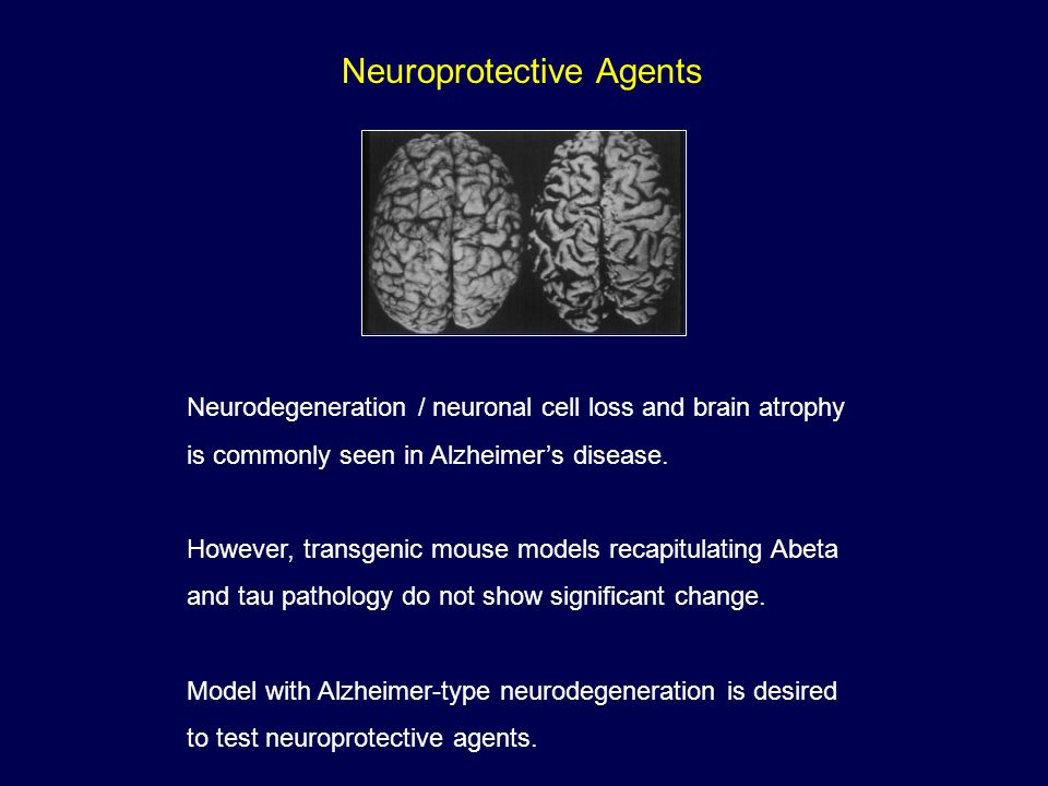 Neuroprotective Agents
