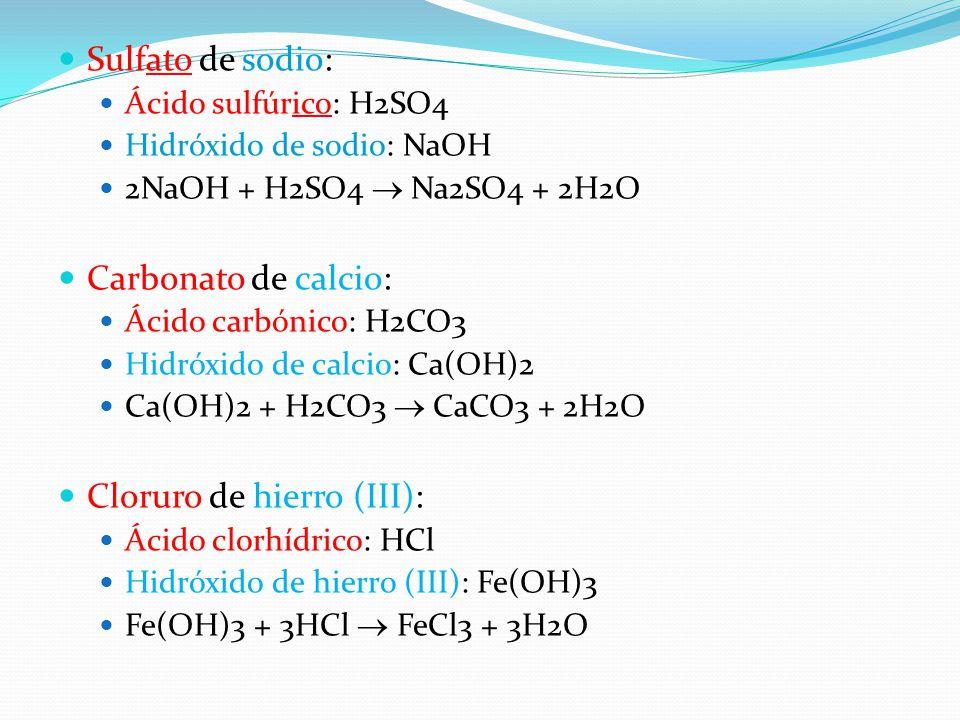 Cloruro de hierro (III):