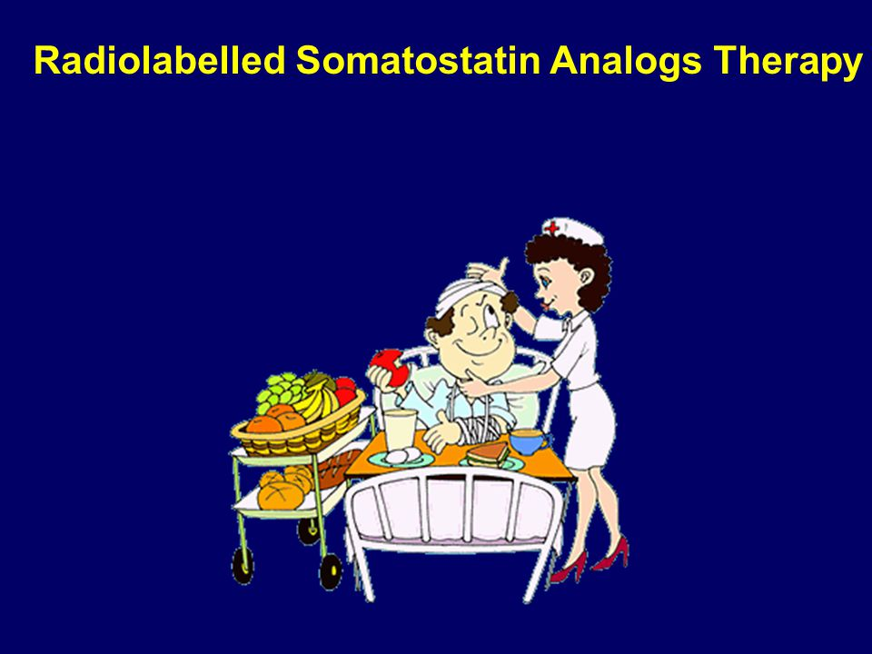 Radiolabelled Somatostatin Analogs Therapy