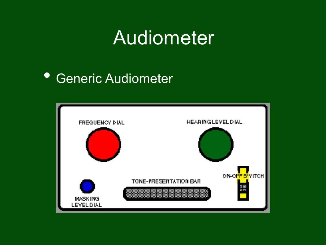 Audiometer Generic Audiometer