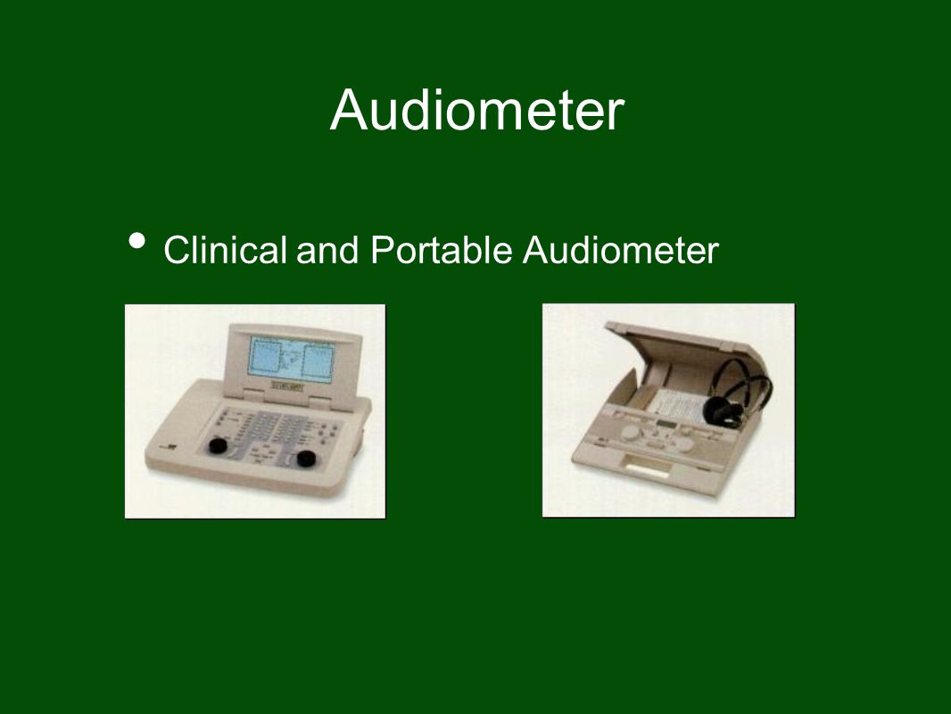 Audiometer Clinical and Portable Audiometer