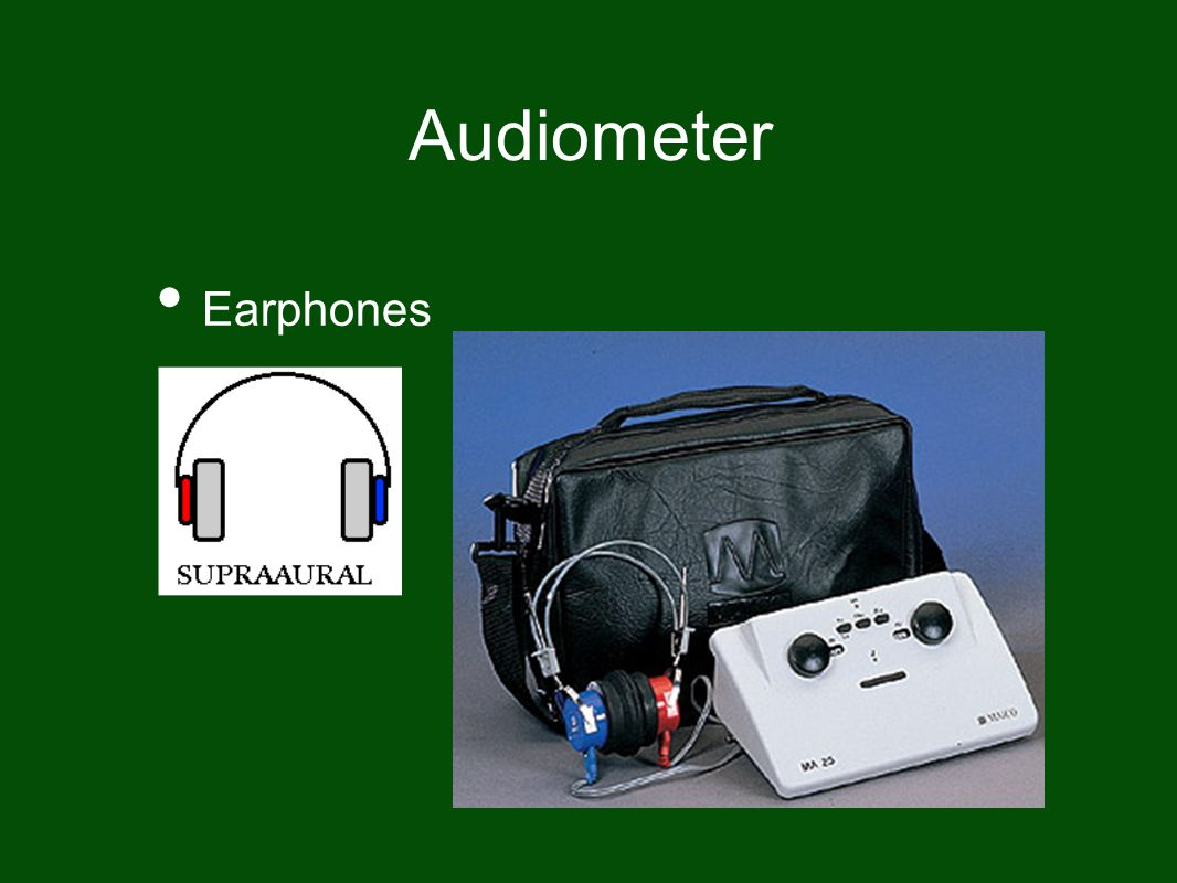Audiometer Earphones