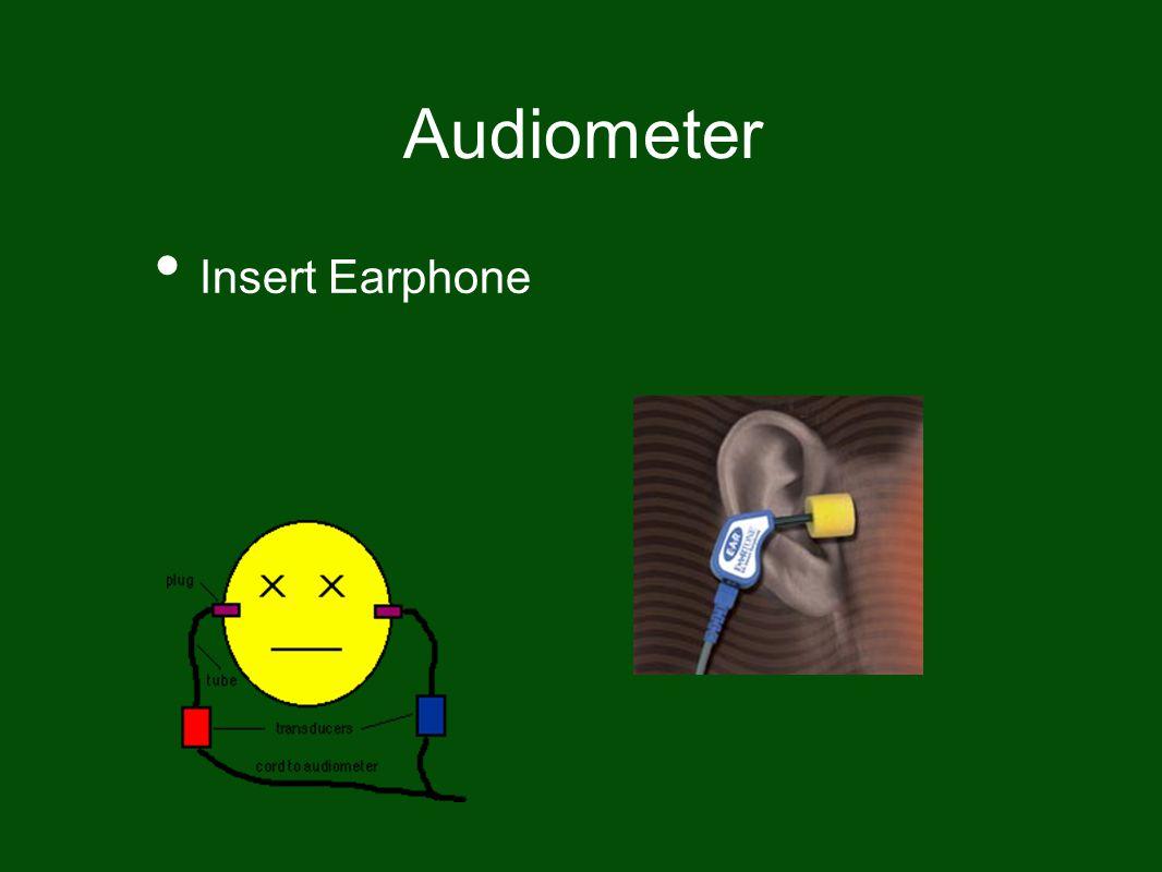 Audiometer Insert Earphone