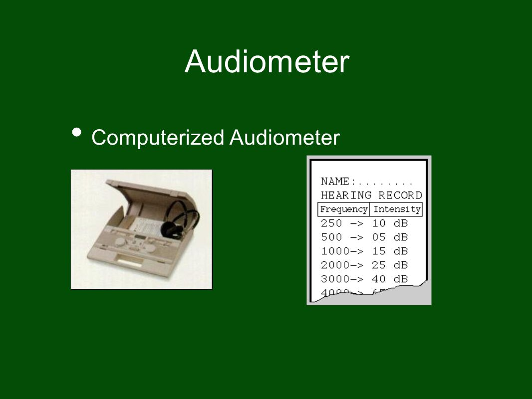 Audiometer Computerized Audiometer