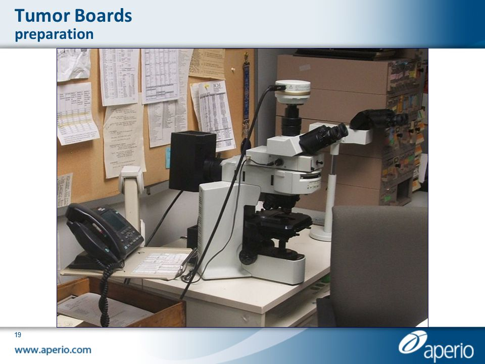 Tumor Boards preparation