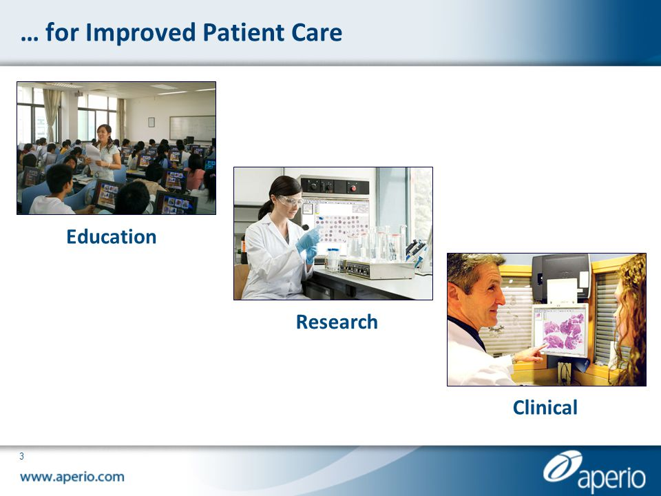… for Improved Patient Care