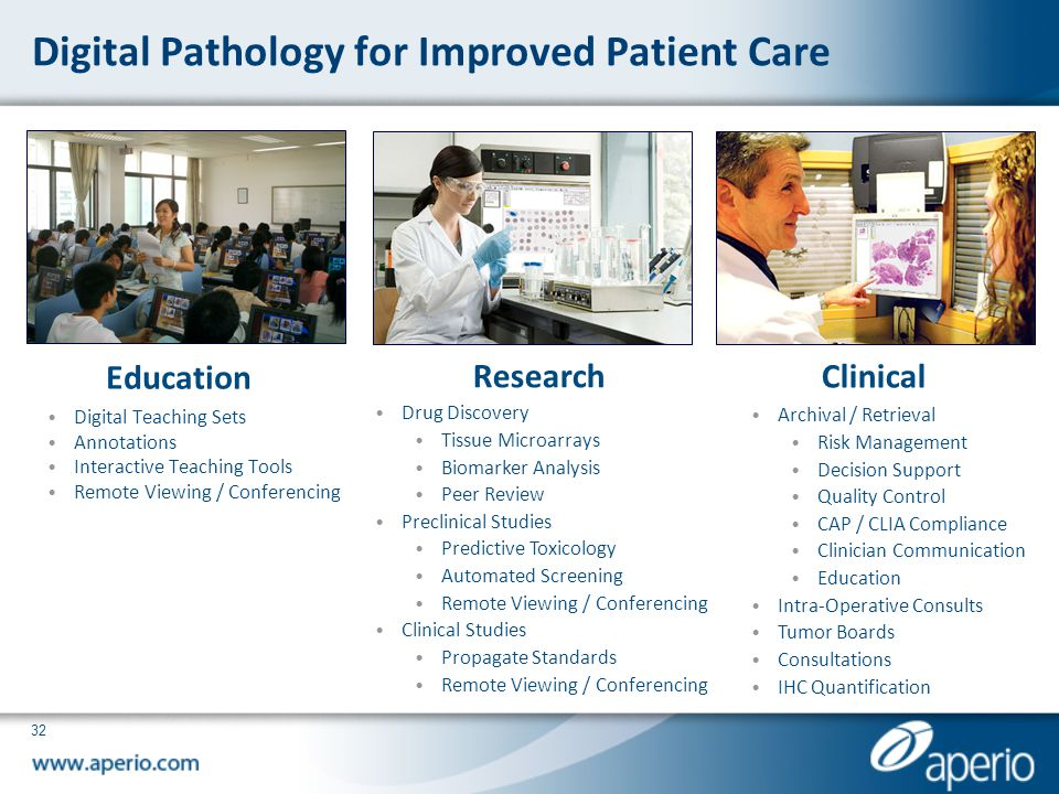 Digital Pathology for Improved Patient Care