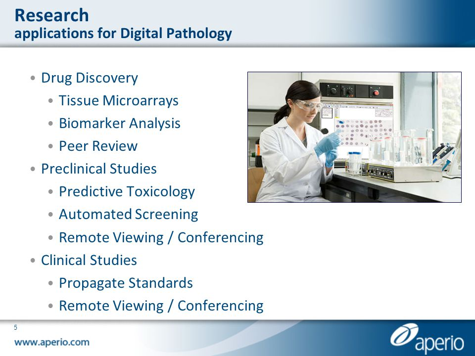 Research applications for Digital Pathology