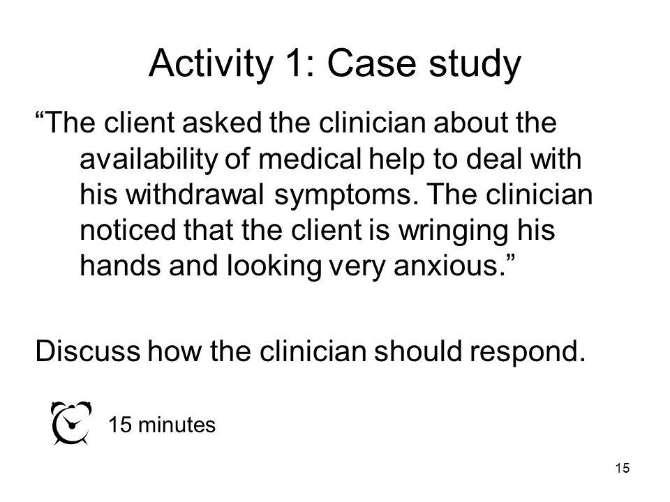 Activity 1: Case study