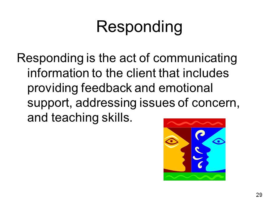 Responding