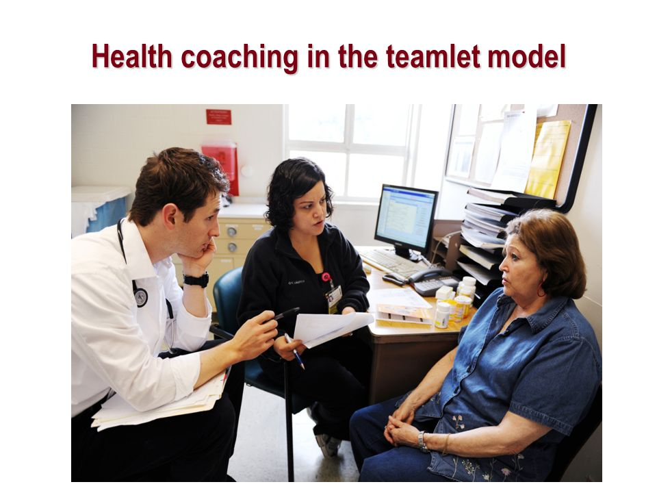 Health coaching in the teamlet model