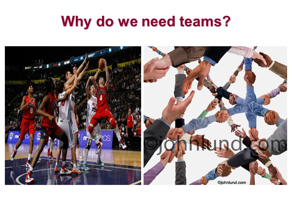 Why do we need teams