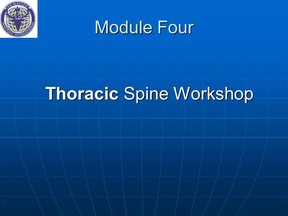 Thoracic Spine Workshop