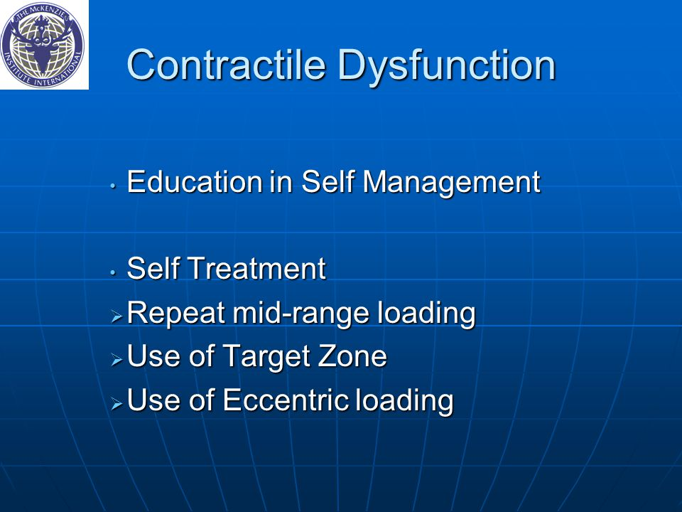 Contractile Dysfunction