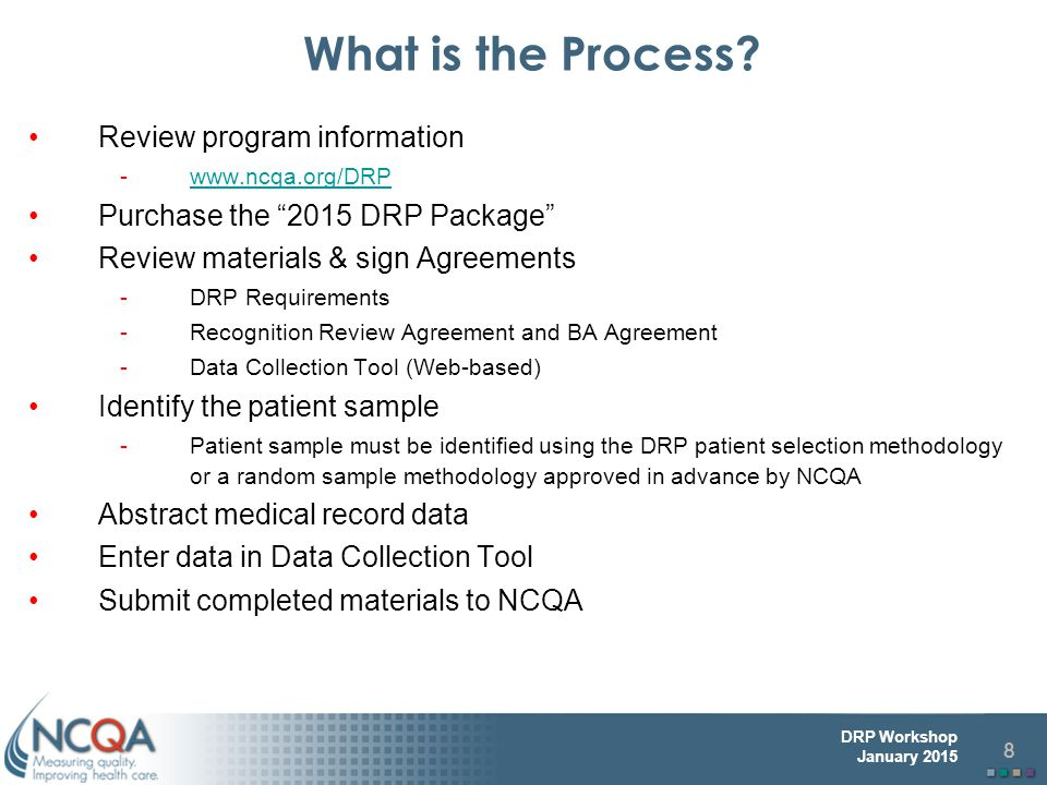 What is the Process Review program information