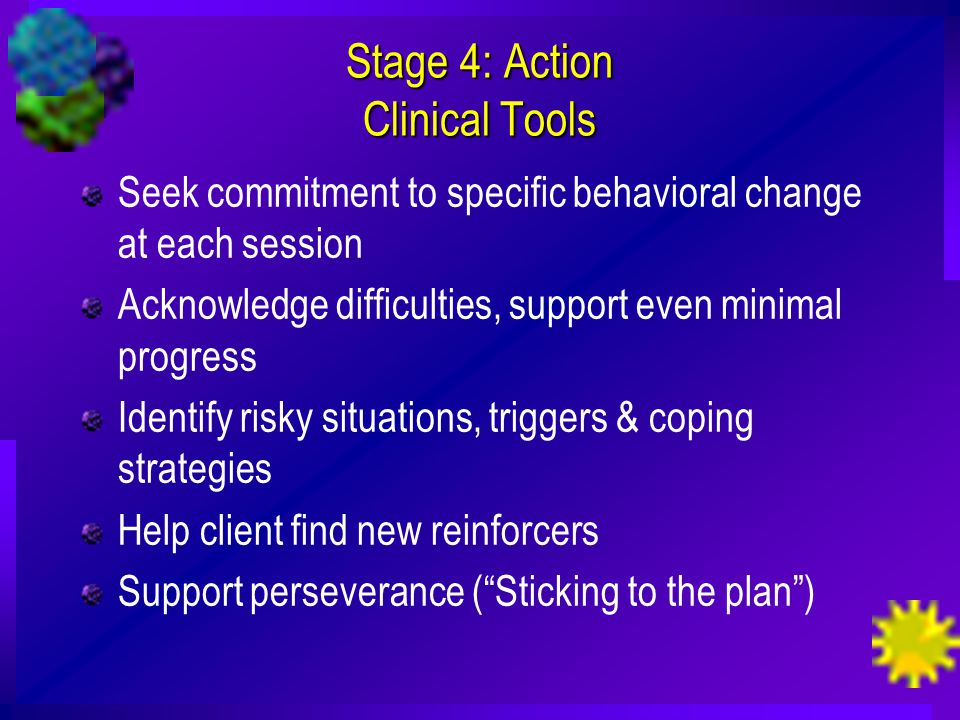 Stage 4: Action Clinical Tools