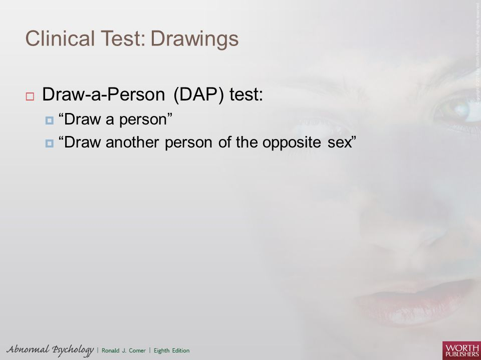 Clinical Test: Drawings