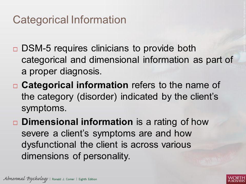Categorical Information