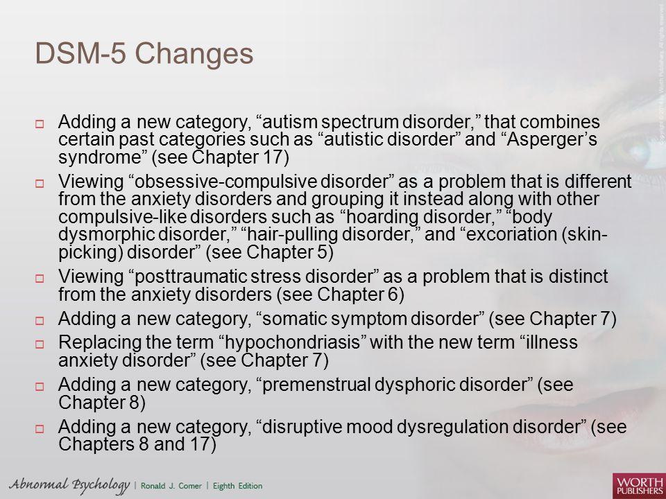 DSM-5 Changes