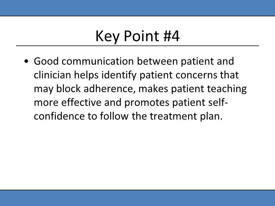 Key Point #4
