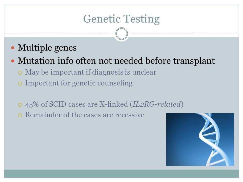 Genetic Testing Multiple genes