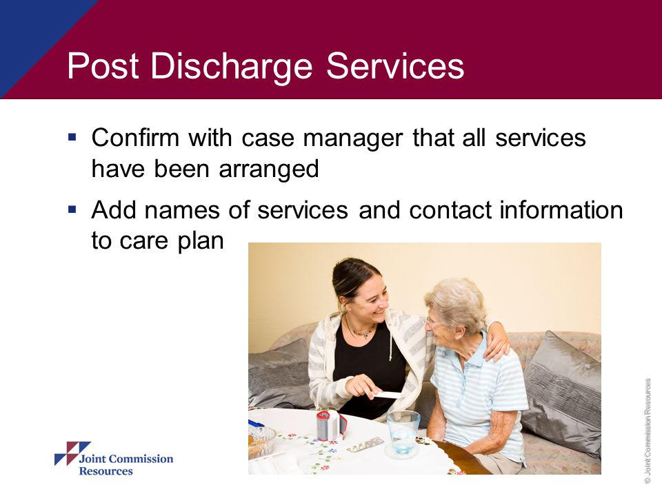 Post Discharge Services