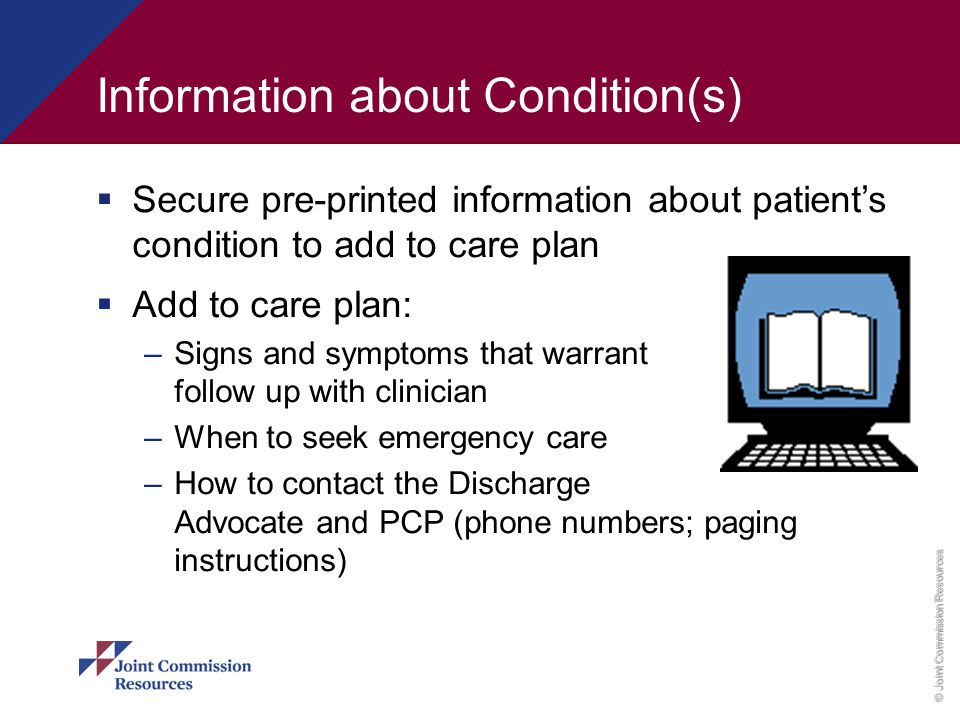 Information about Condition(s)