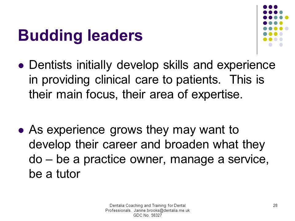 Budding leaders